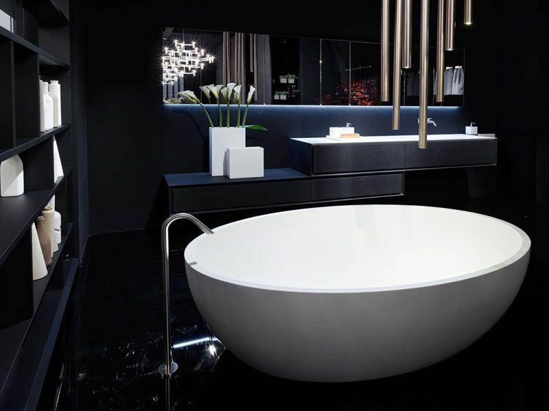 Cement Afwerking Badkamer : K one vanity badkamer centrum