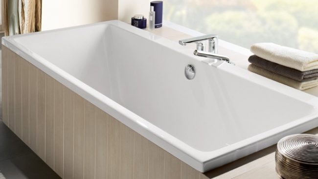 Villeroy & Boch Subway whirlpoolbad