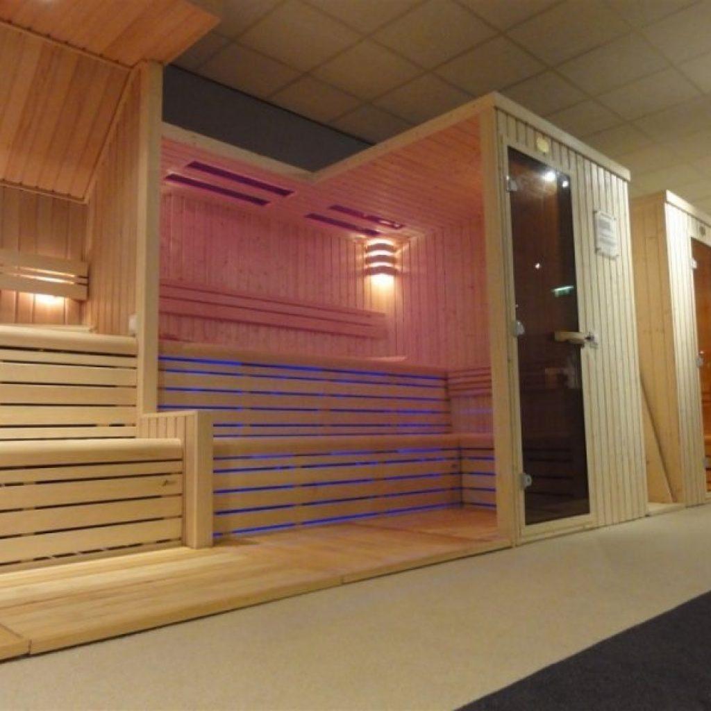 Sauna op maat en in standaard afmetingen | Badkamer-Centrum